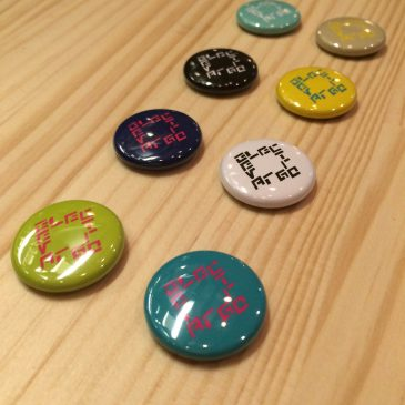 (日本語) ELECTROGRAVE Pin Badges